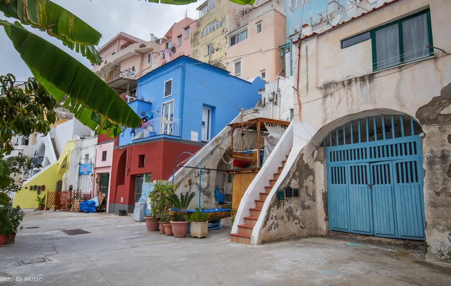 Procida: colori dal Mediterraneo
